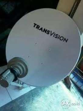 Parabola mini Trânsvision HD Banjarmasin spesial harga 70rbu
