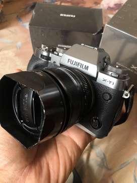DIJUAL CEPAT FUJIFILM XT-1 GS + FUJINON 35MM F1.4