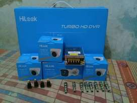 Paket pasang Cctv HILOOK 4 Channel 2 megapixel