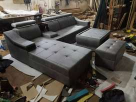 Great style sofa set with table