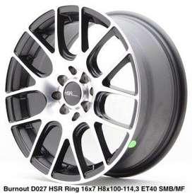 BURNOUT D027 HSR R16X7 H8X100-114,3 ET40 SBMF