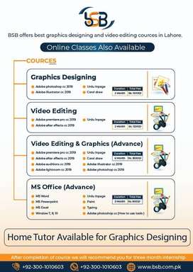 Graphics Design & Video Editing cource