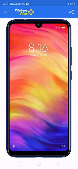 Redmi note 7 pro (4, 64), seal pack