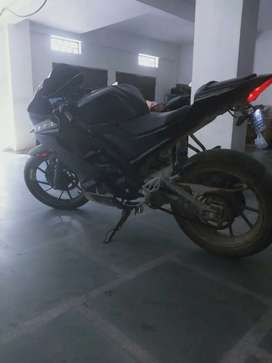 Yamha R15 _6400 KM running only