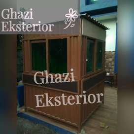 CONTSINER USAHA KULINER /BOOTH SEMI CONTAINER /COMTAINER COFFE CAFE