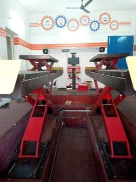 Wheel alignment machines(John Beam) with Nitrogen