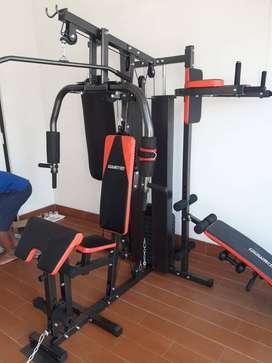 Homegym 3 Sisi Samsak Peralatan Fitness Full