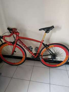 Road bike alloy mulus no minus