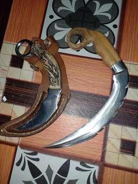 Terima Jasa Pembuatan Pisau, Pedang, Kerambit, Kuku Elang dan lainnya.