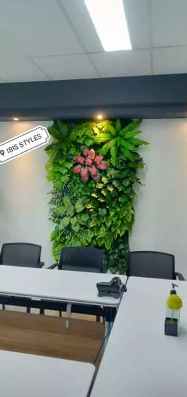 Fertikal Garden Plastik - Taman Sintetis Dinding | Depok Indonesia