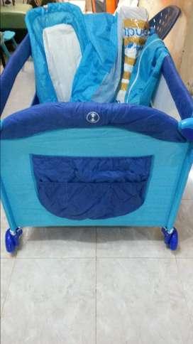 Pliko Rocking Playard B819XLR /  Tempat tidur bayi