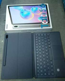 Samsung Galaxy Tab S6 Grey RAM 6/128GB + Cover Keyboard