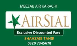 Airsial Airlines tickets Discounted Rates 24/7