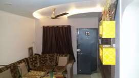 Furnished 3BHK road facing recently renovated flat for 42 lacs only