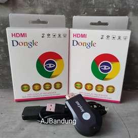 Dongle HDMI Anycast Wifi Wireless Android Ios ke TV