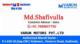 Maruti Suzuki, stay safe Different prices for different models.