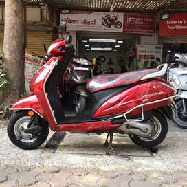 Honda activa 4G in red colour 2017