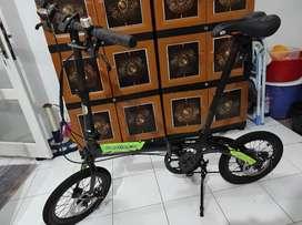 Sepeda Lipat Folding Bike Dahon Ion Chicago 16 inch