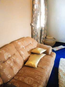 Golden n brown sofas for sale