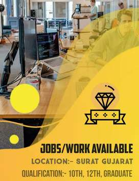 Full time part time work available
