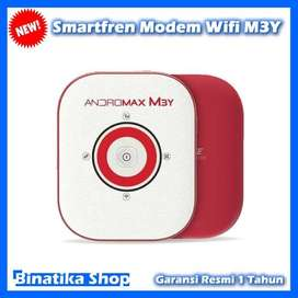 Mini Router Smartfren Modem Wifi M3Y High Speed 4G Connection