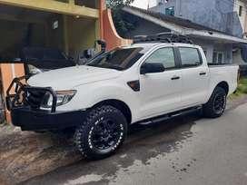 Ford Ranger XLS 2013 Istimewa Bahan Raptor Modif triton/hilux/navara