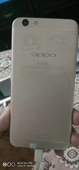 Oppo F1 s 4/32bilkul fresh 10 by 10 only on mobile no charges no box