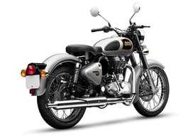 Royal enfeild classic silver clr 2016 model
