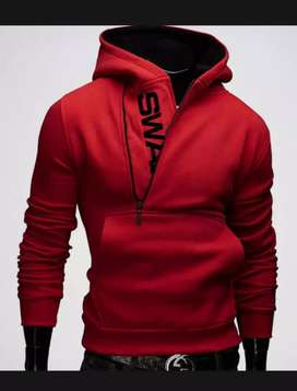 New stylish fleece hoodie for men