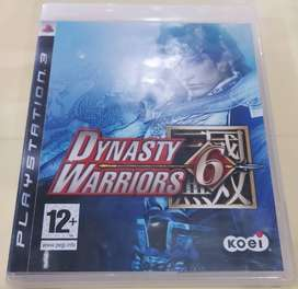 Game PS3 - Dynasty Warrior
