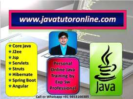 Private Online Java Tutor | 15 Yrs Exp Sw Pro | Live Project Training