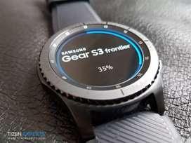 Samsung watch ( gear s3 frontier )