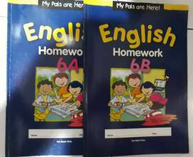 Buku English Homework 6A-6B (Based on the latest PSLE format)