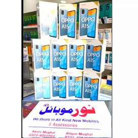 Oppo A15 (3GB 32GB) 4230MAH Batterry Box pack All Colours Available