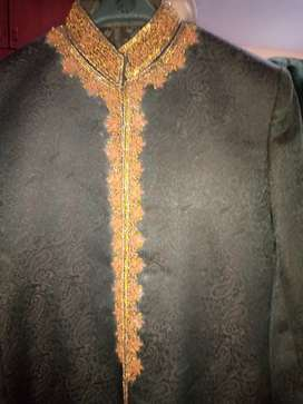 Maroon sherwani for groom 0342-two-seven-0-nine-four-nine-6