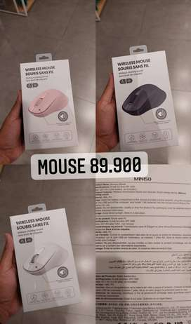 Miniso Mouse wirelles usb plug in play