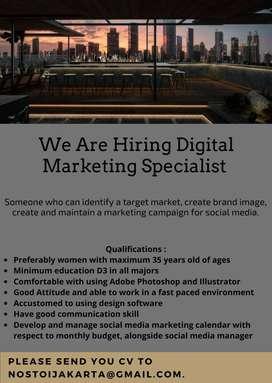 Digital Design and Marketing Specialist