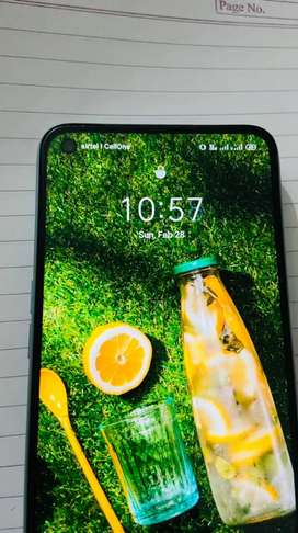 Realme 7 ocean blue color , 4 months old 6Gb Ram and 64 Rom ,looks New