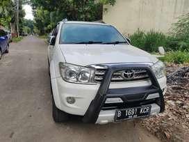 Toyota fortuner Diesel 2010 AT istimewa pajak hidup no dandan &PR