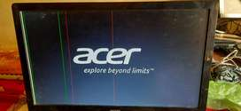 Acer monitor 18.5 inch