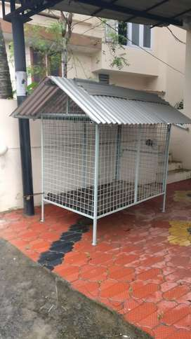 Pet cage custom made