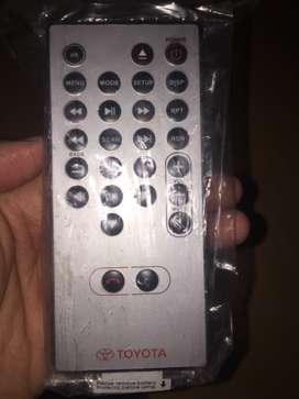 Remote head unit kijang innova