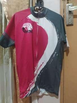 Jual Jersey/baju sepeda Roadbike/MTB/SELI  full zip komunitas PATRIOT