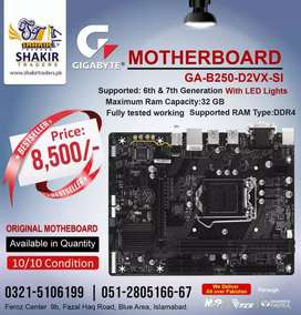 Original Gaming Gigabyte Motherboard Available