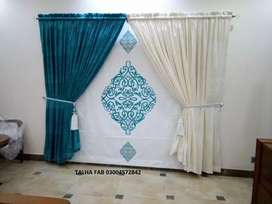 Home decorations curtains and blinds