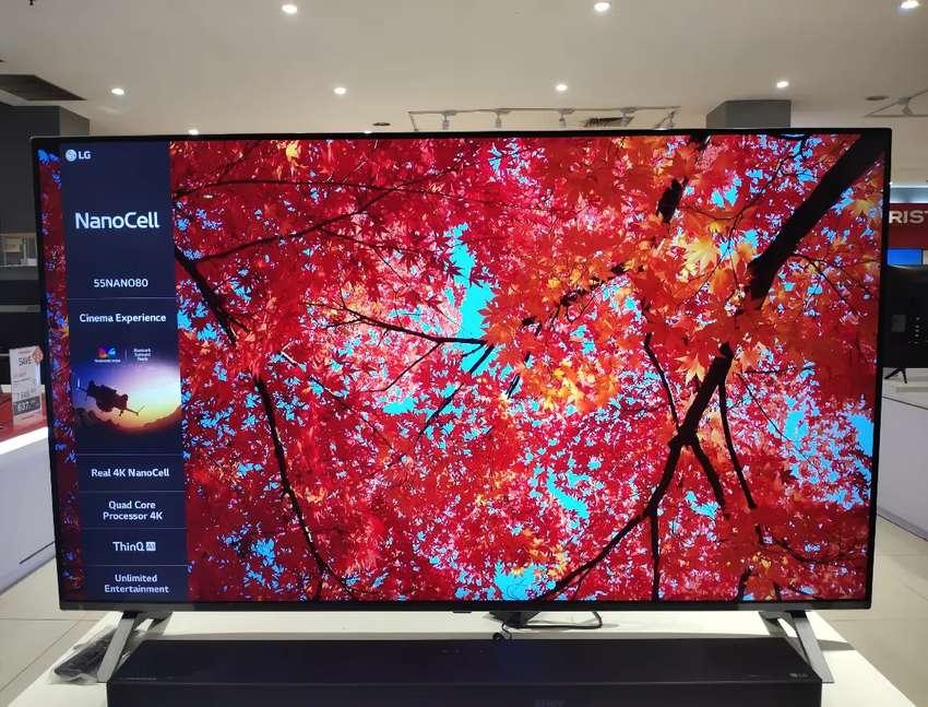 "LG TV SMART 4K 55"""