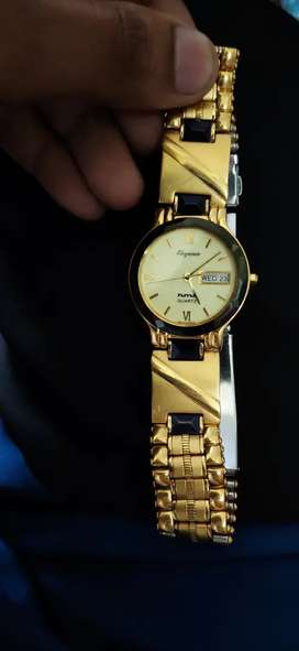 Gold hmt Watch Brand New