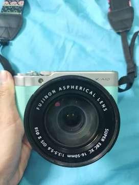 Fujifilm X-A10 / XA10 Kit16-50mm OIS II - MINT GREEN