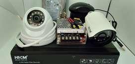Murah  paket cctv online Lengkap IC SONY Cctv Camera Dome Infrared Avi