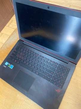 ASUS ROG G501VW CORE I7 RAM 8GB